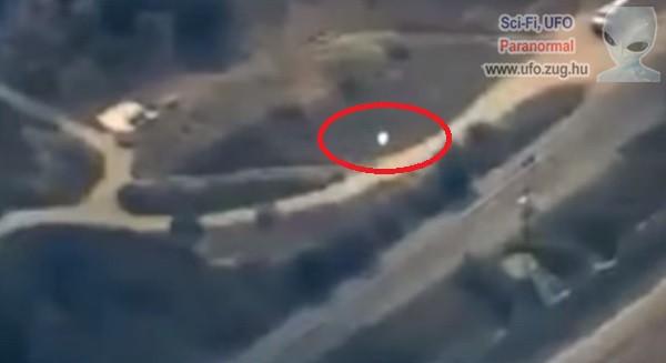 Erdőtűz fölött bukkant fel egy UFO
