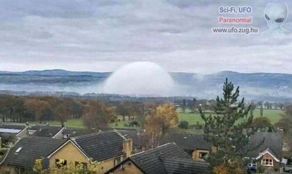 Álcázott UFO vagy csak egy időjárási jelenség?!