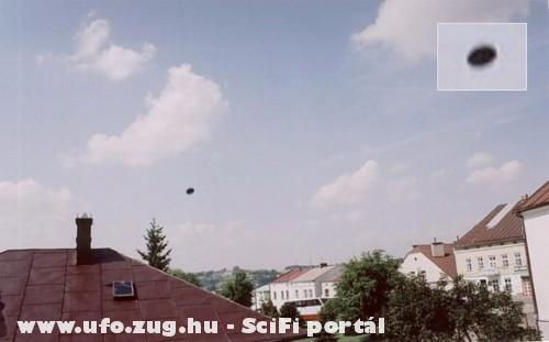Ufo a város felett!
