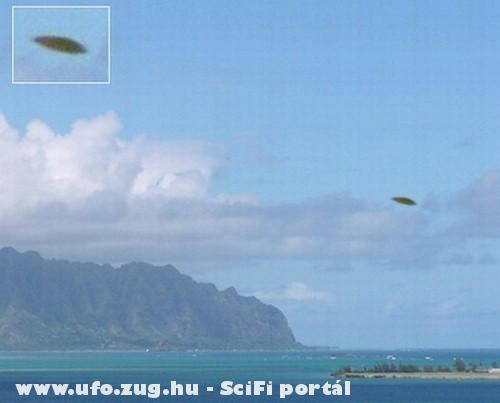 Ufo partok felett