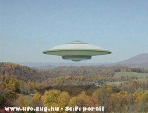 UFO az erdõ mellett