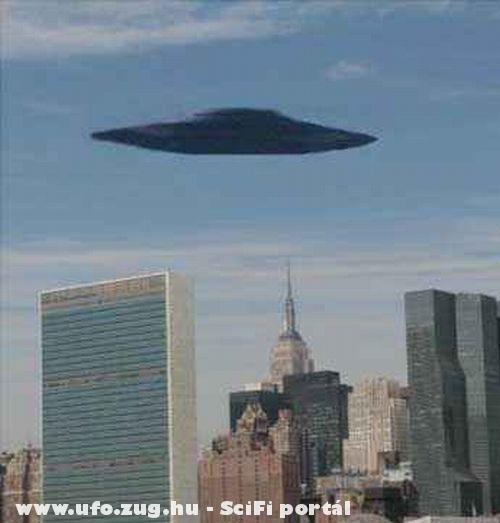 UFO a városban
