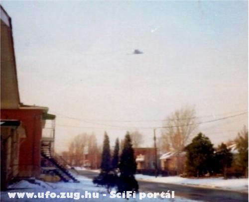 UFO Canada felett