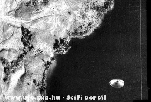 UFO észlelés. 1971 Lago de Cote