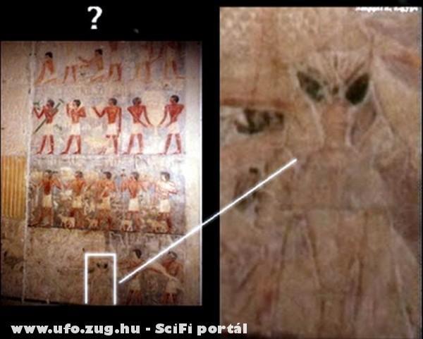 Egy egyiptomi piramisrajz