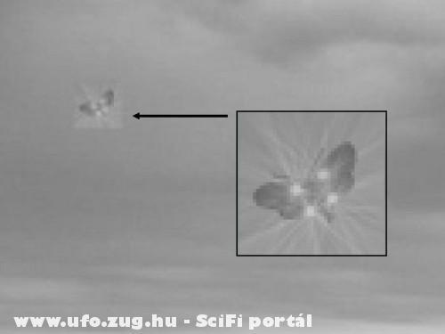Pillangó alakú ufo