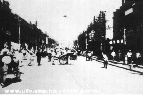 1942, Tiensten UFO az égen