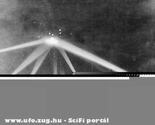 UFO landolás közben!