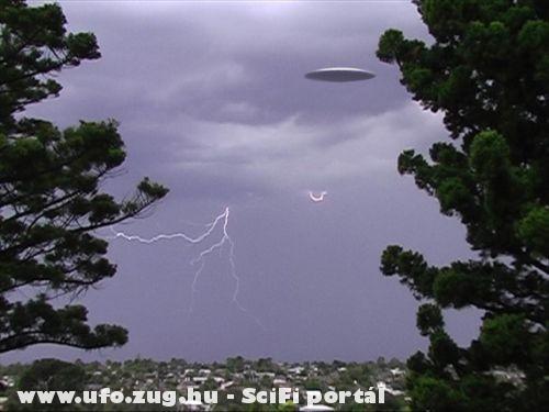 UFO az égbolton