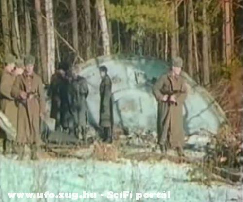 Valódi kép egy lezuhant UFO-ról!