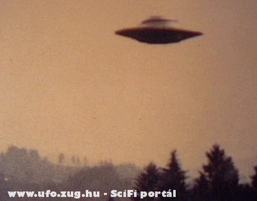 Ufo naplementében