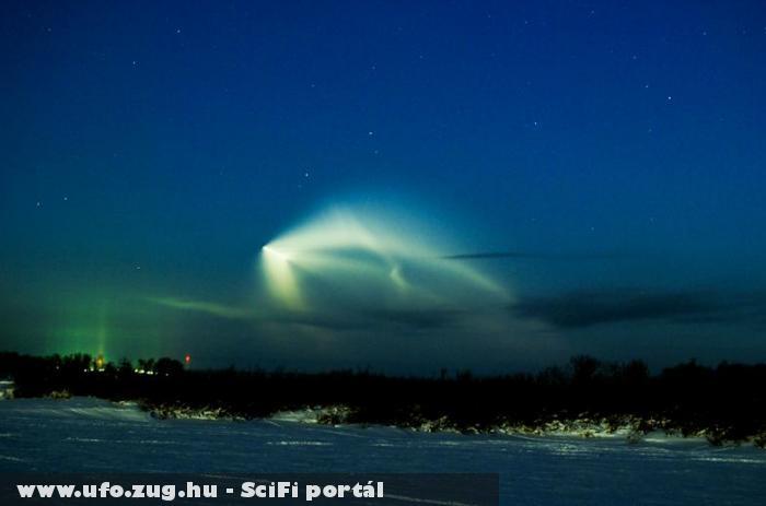 UFO jelenség Szibéria fölött