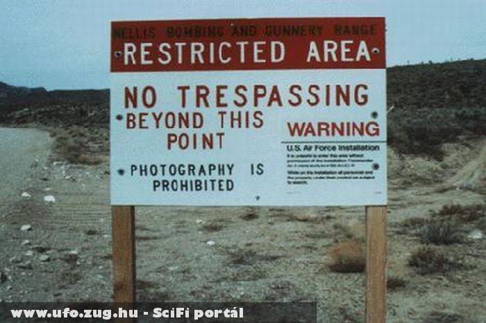 Az 51-es körzet. A belépés tilos!