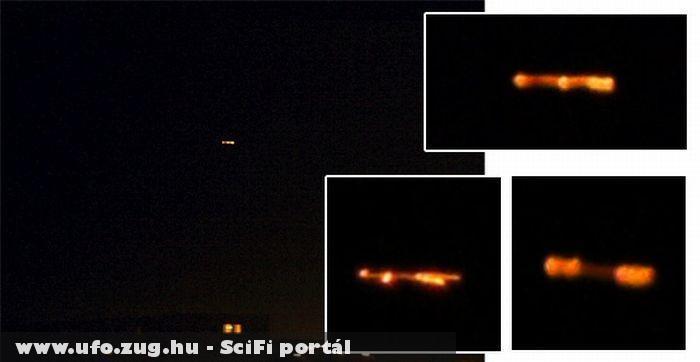 Veszprém-háromszor jött az UFO