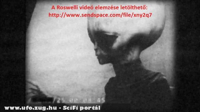 Kiszivárgott felvétel a Roswelli idegenrõl!