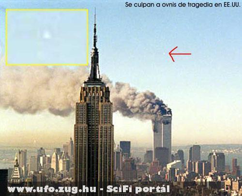 UFO a WTC  felrobbanása után