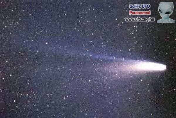 A Halley-üstökös közelről