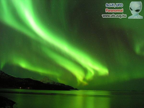 Az északi fény kísérteties és gyönyörű egyben