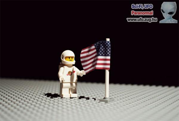 Új felvétel a holdra szállásról