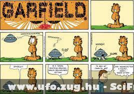 Garfield és az UFO-k