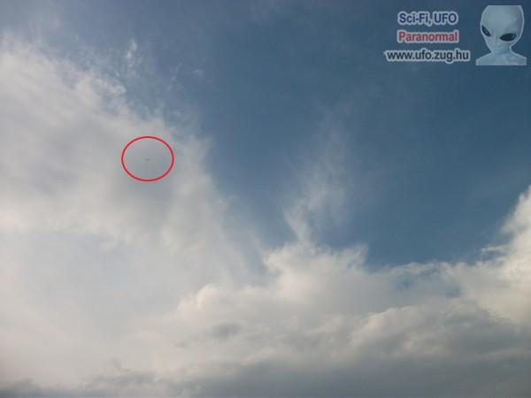 UFO Zichyújfalu felett