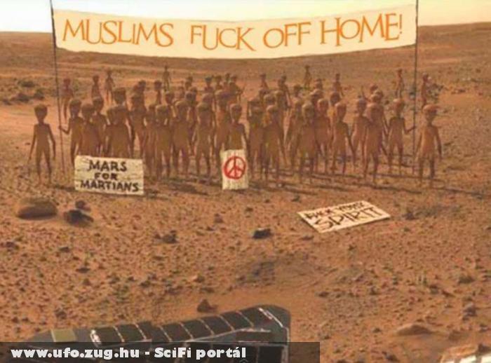 UFO: mumus fuck off home :D