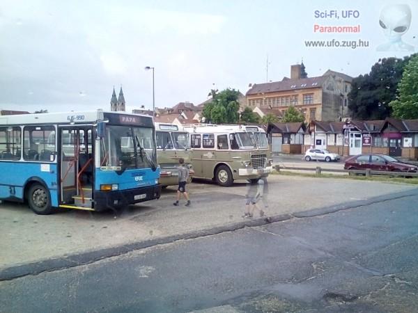 Szellemek a pápai buszpályaudvaron
