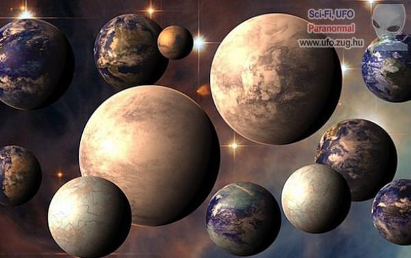 Van melyik bolygón van élet?