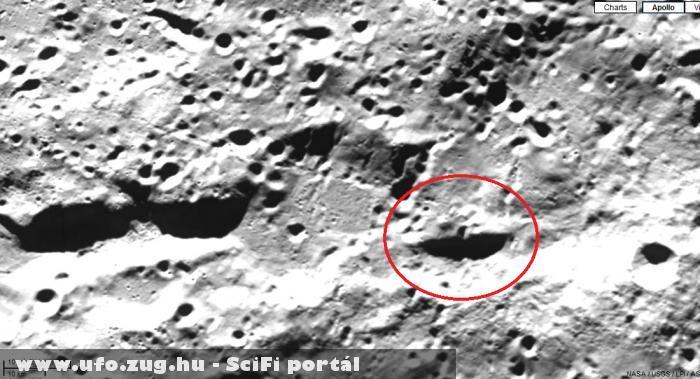 Lehet , hogy ufó van a  NASA fotón.