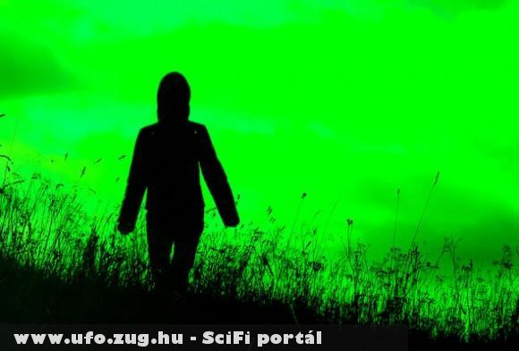 Egy ufo - zöld idegen!