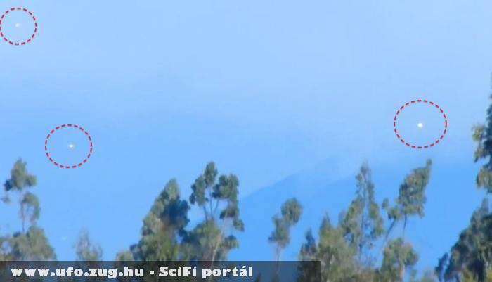 Egyszerre több UFO az égbolton