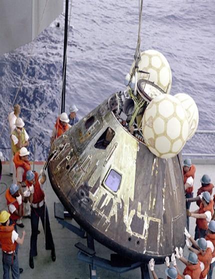 Apollo 13 - leszállás után