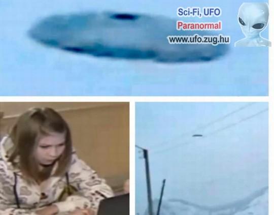 Orosz tinilányok fényképeztek le egy ufót