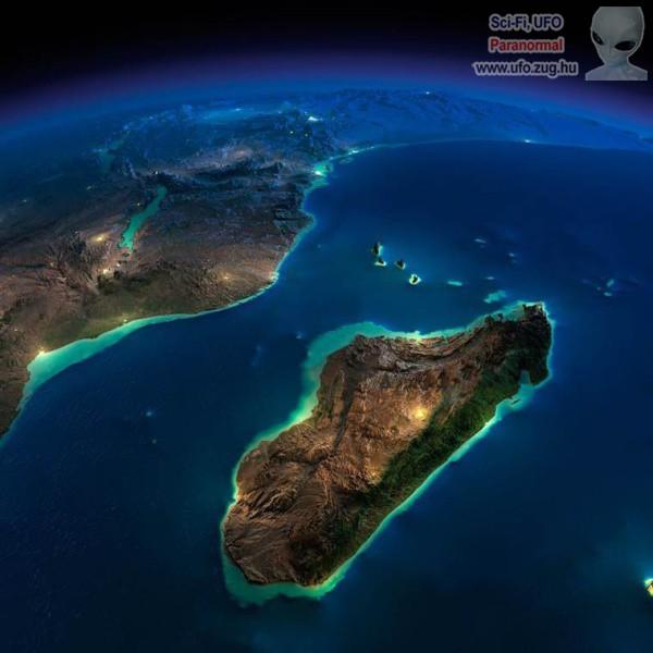 Sziget és rengeteg víz, így néz ki az űrből fotózva