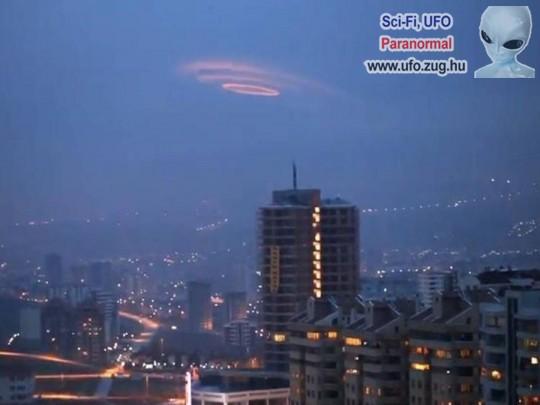 UFO a város felett