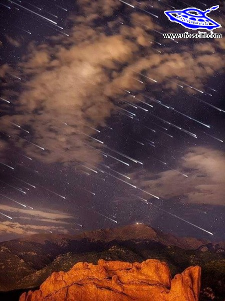 Meteor eső Coloradóban