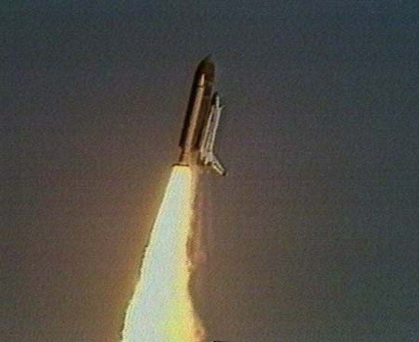 A Challenger robbanás elõtt
