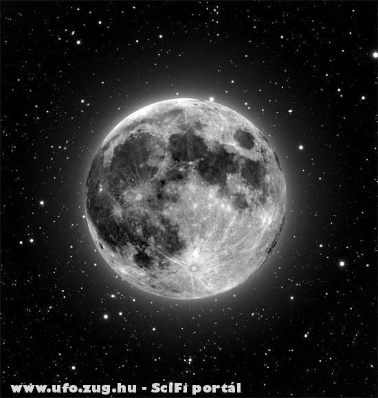 A drága holdunk - meteorit nyomokkal