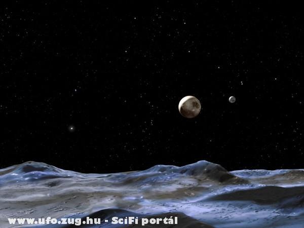 Távolban a Plutó!