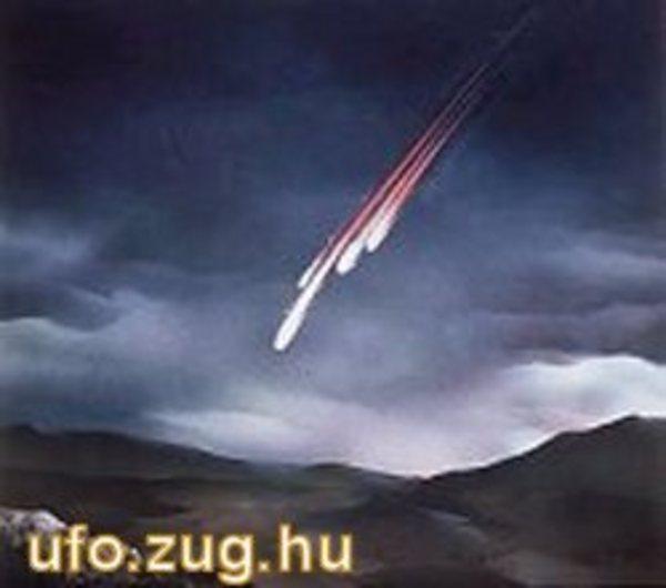 Meteoritok becsapódása