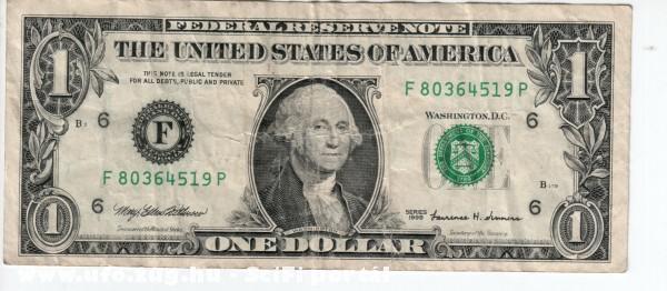 ONE dolláros 1