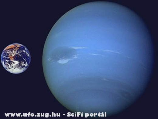 Neptunusz és Föld
