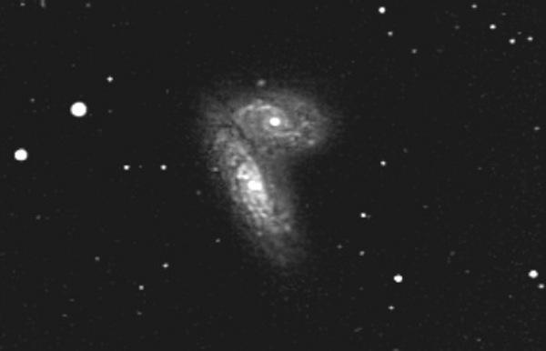 Ütközõ galaxisok