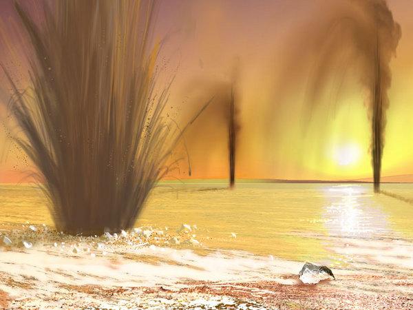 Gázkitörés a Marson-fs