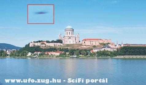 Ufó Esztergom felett