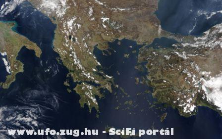 A Balkán félsziget fentrõl