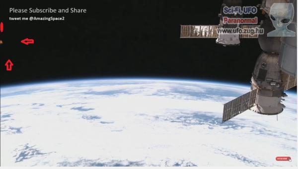 Ufók a NASA videón.
