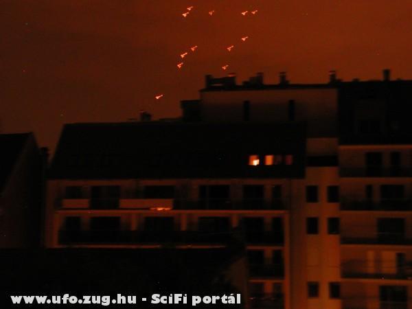 Duna fölött 2009 január.Ki látott hasonlót?