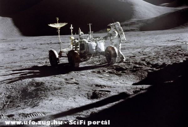 Séta a Holdon