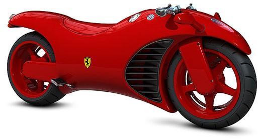 Ferrari Motorkerékpár (jó lenne!)